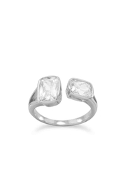 MMA Silver Eliza Crystal Ring - Product Mini Image