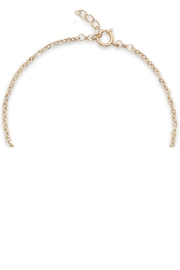 MMA Silver Ellie Druzy Necklace - Front full body