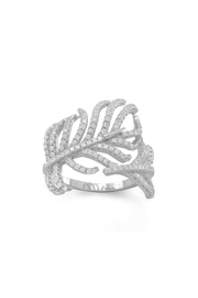 MMA Silver SIlver Feather Ring - Product Mini Image