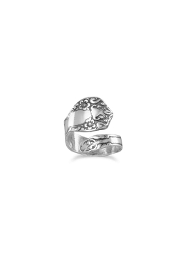Shoptiques Product: Floral Spoon Ring