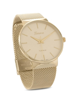 Shoptiques Product: Gold Mesh Watch