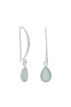 Shoptiques Product: Jessie Chalcedony Earrings
