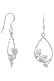 MMA Silver Julie Moonstone Earrings - Product Mini Image