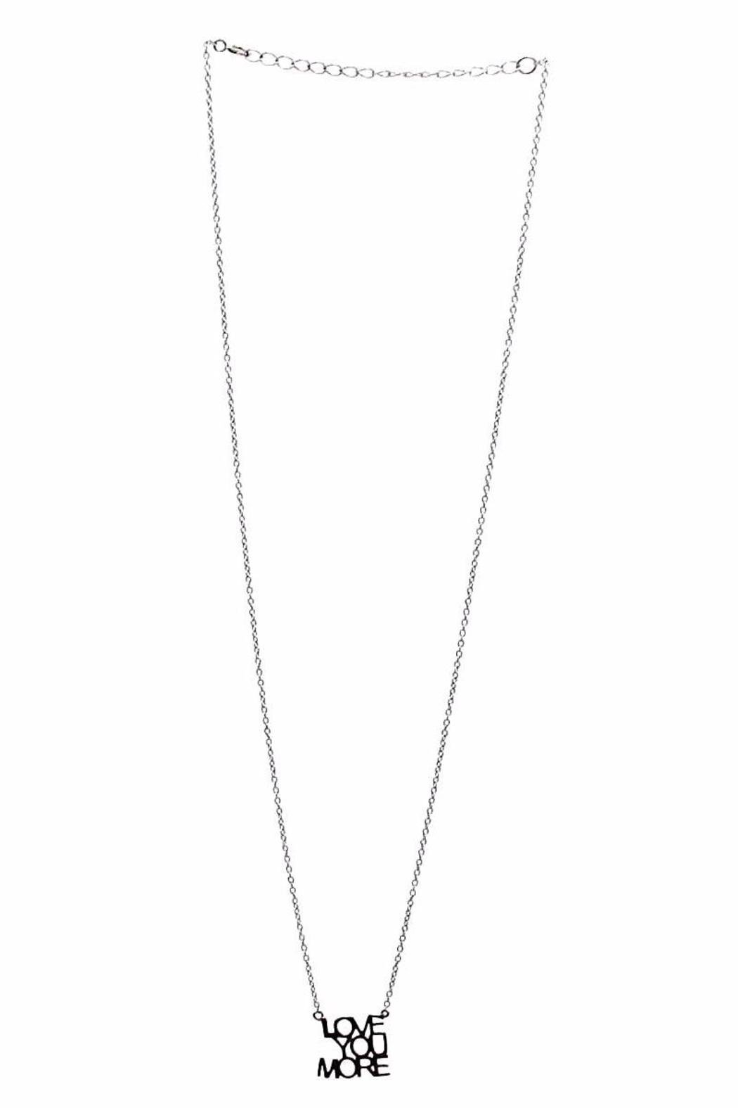 MMA Silver Love-You More Necklace - Main Image