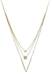 MMA Silver Monteca Necklace - Front cropped