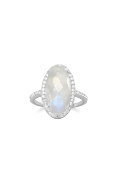 Shoptiques Product: Silver Moonstone Ring