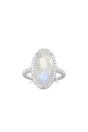 MMA Silver Silver Moonstone Ring - Product Mini Image