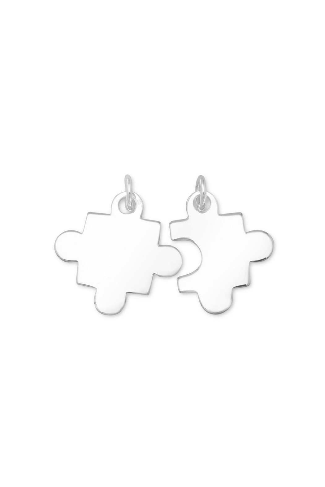 MMA Silver Piece Of Puzzle Charm - Main Image