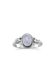 MMA Silver Rainbow Moonstone Ring - Product Mini Image