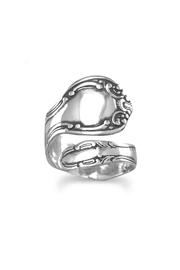 MMA Silver Spoon Ring - Product Mini Image
