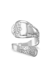 MMA Silver Sterling-Silver Spoon Ring - Product Mini Image