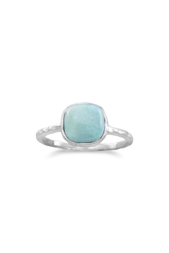 MMA Silver Turquoise Ring - Product List Image