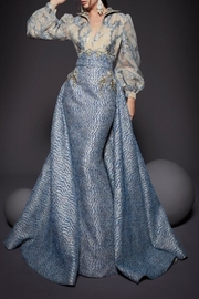 MNM Couture Long Sleeve Gown - Product Mini Image