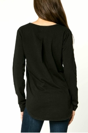 mo:vint Long Sleeve V-Neck Top - Side cropped