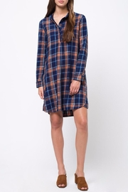 mo:vint Plaid Dress - Front cropped