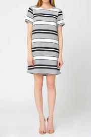 mo:vint Striped  Sleeve Dress - Product Mini Image