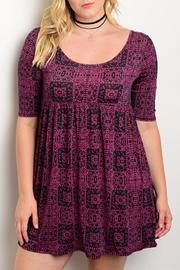 Moa Black Magenta Plus - Front cropped