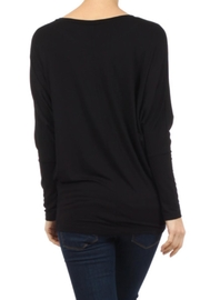 Moa Dolman Sleeve Tunictop - Front full body