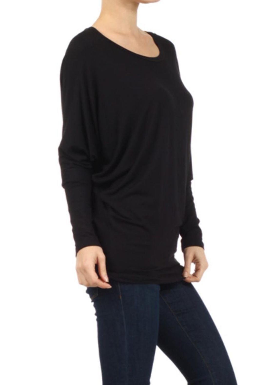Moa Dolman Sleeve Tunictop - Side Cropped Image