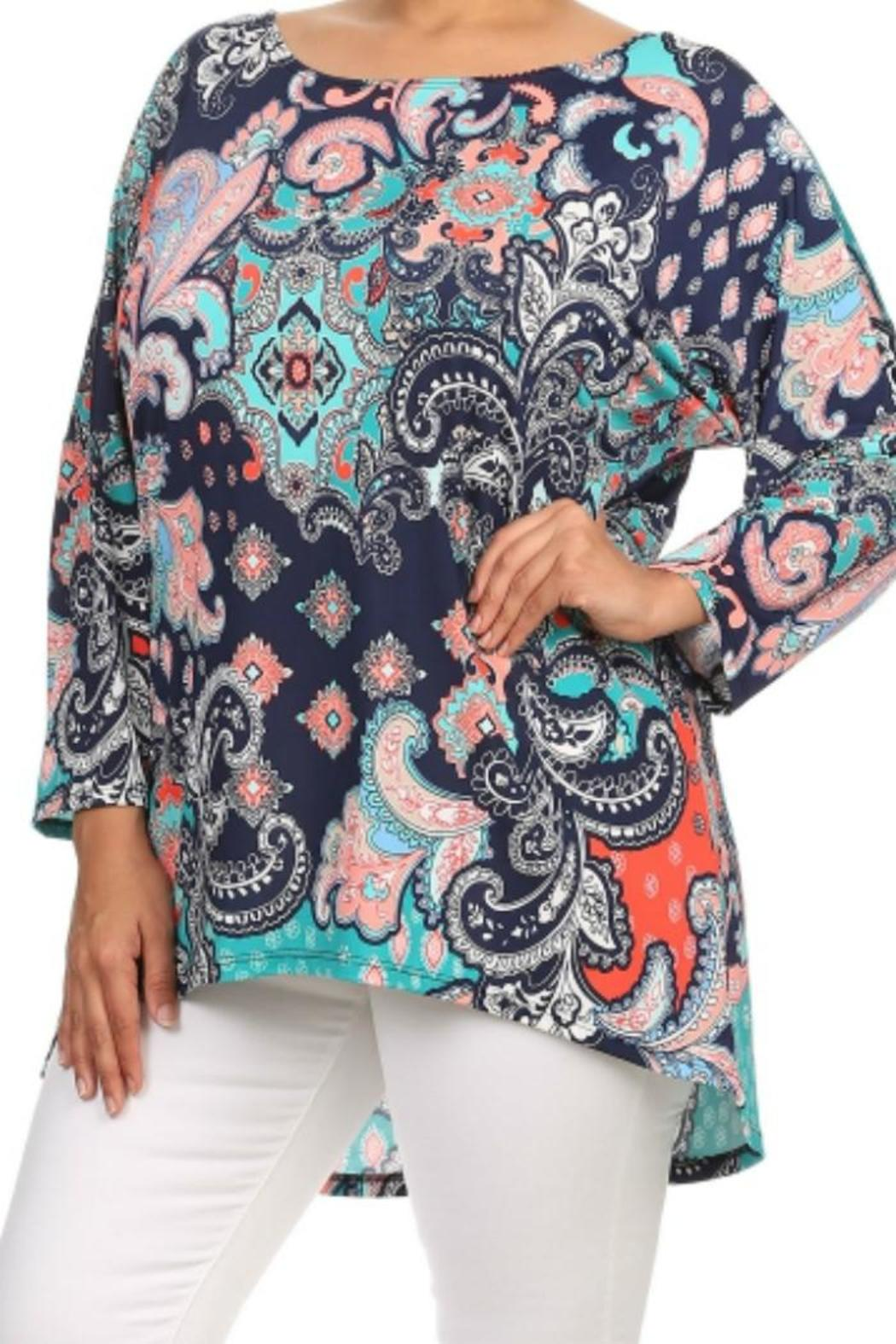477f8bb510a Moa Fun Paisley Tunic from Ohio by Kelly's Boutique — Shoptiques