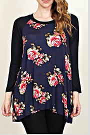 Moa USA Floral Print Tunic - Product Mini Image