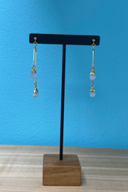 Whim Jewelry Mobile Moonstone Earrings - Product Mini Image