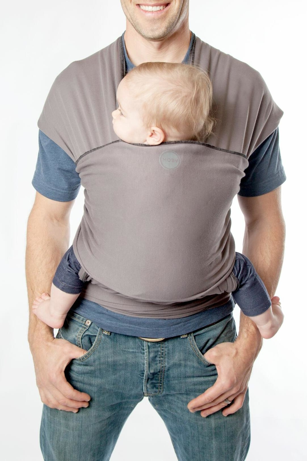 Moby Wrap Baby Wrap - Front Full Image