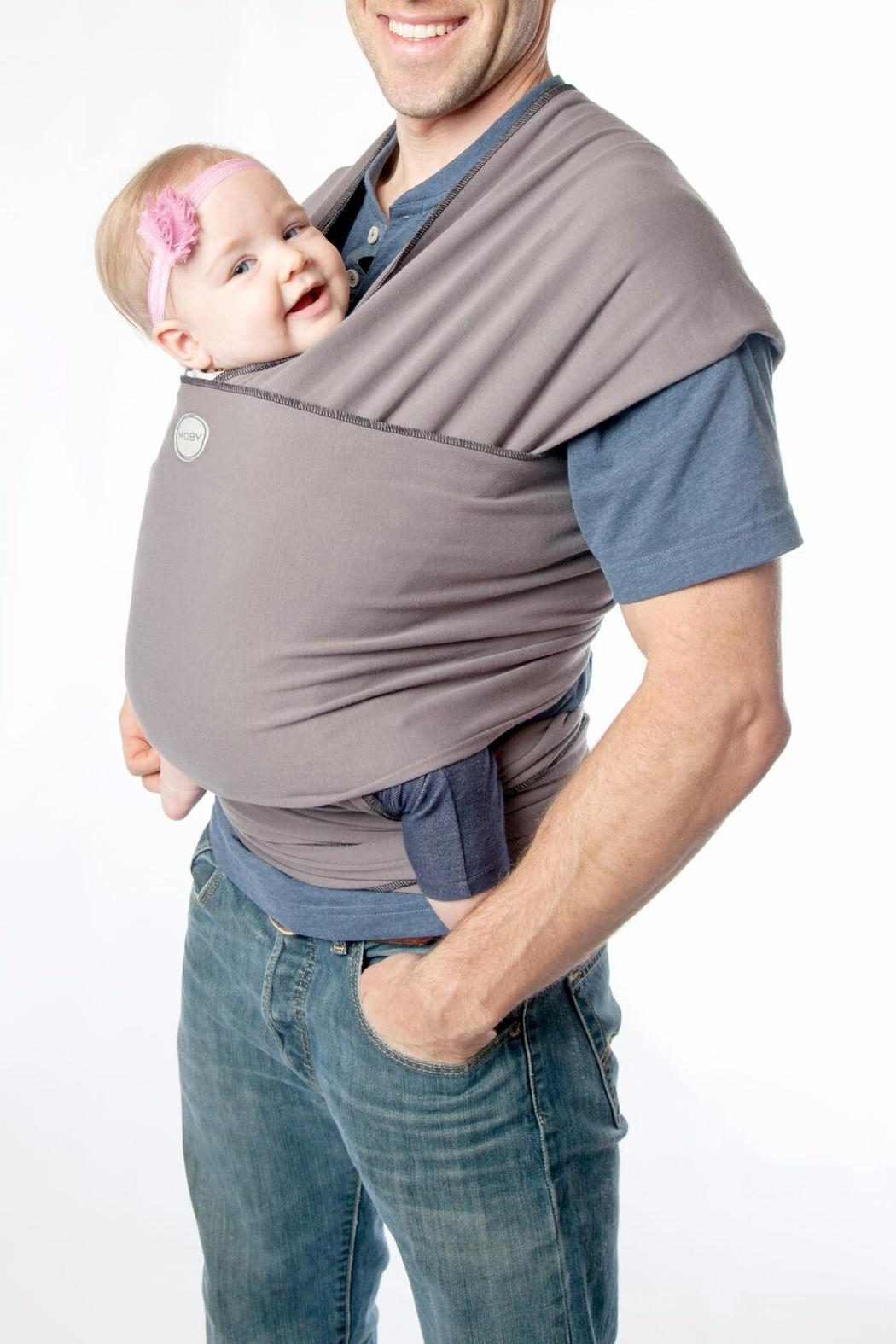 Moby Wrap Baby Wrap - Front Cropped Image