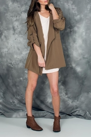 PPLA Mocha Anorak Jacket - Product Mini Image