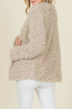 Reborn J Mocha Faux-Fur Jacket - Alternate List Image