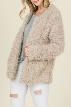 Reborn J Mocha Faux-Fur Jacket - Product List Image