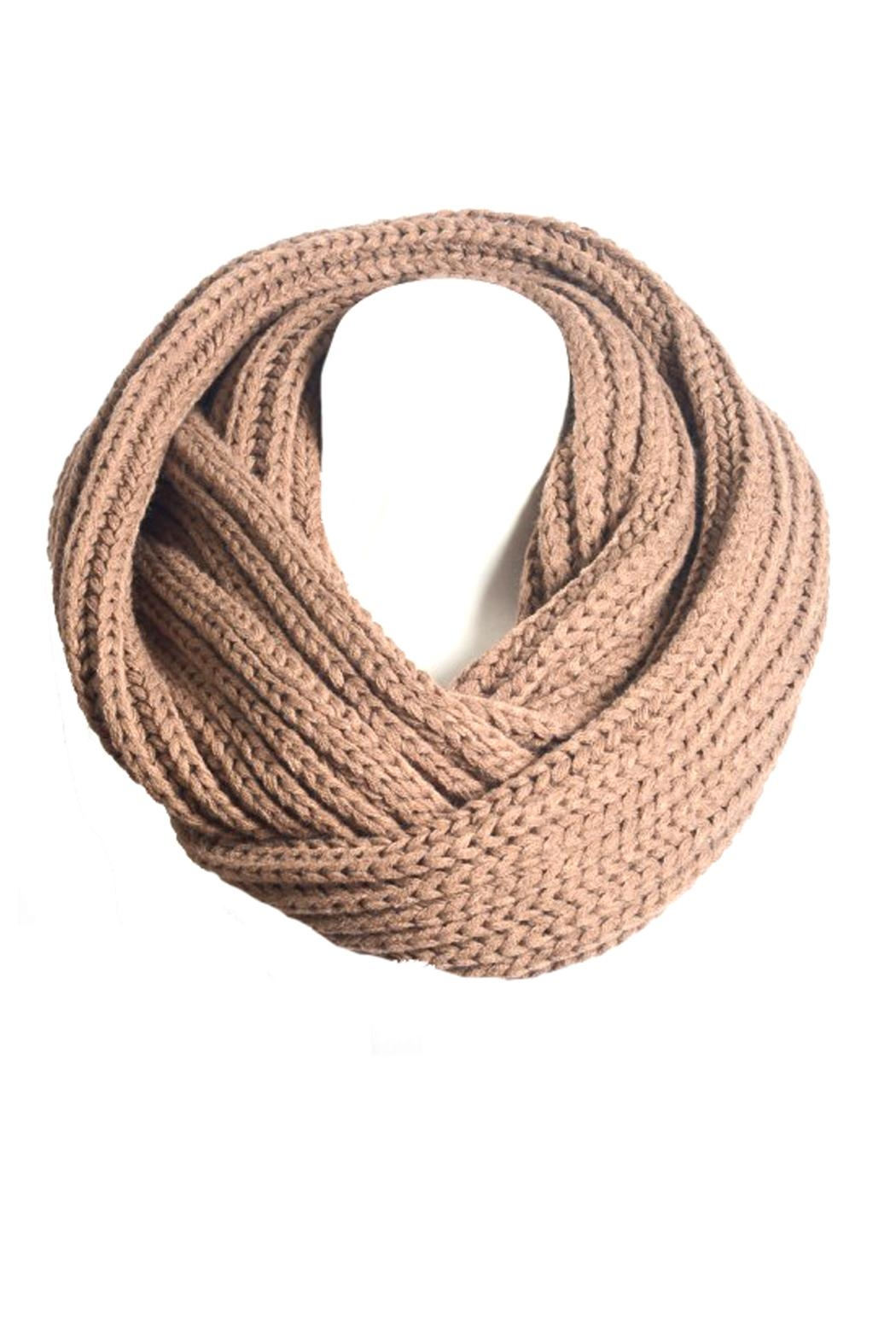Wild Lilies Jewelry  Mocha Infinity Scarf - Front Full Image