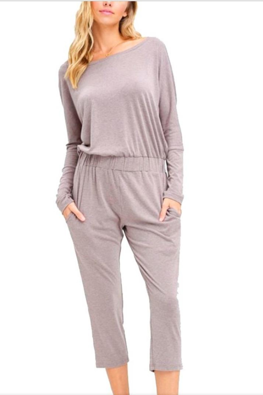 e582362d9c6b Listicle Mocha Jersey Jumpsuit from Pennsylvania by Bronze Body ...