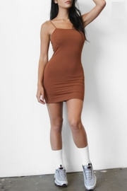 TIMELESS Mocha Latte Dress - Product Mini Image