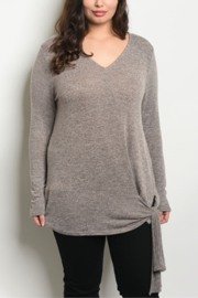 Fashion Mocha long sleeve T - Product Mini Image