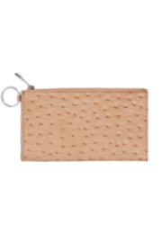 The Birds Nest MOCHA OSTRICH BIG OSSENTIAL WALLET - Product Mini Image