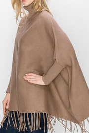 Patricia's Presents Mocha Poncho with Sleeves - Product Mini Image