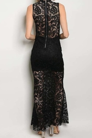 Not Labeled  Mock Lace Maxi - Side cropped