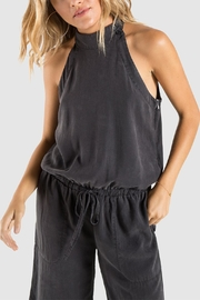 Bella Dahl Mock Neck Jumpsuit - Product Mini Image