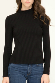 She + Sky Mock neck knit top - Product Mini Image