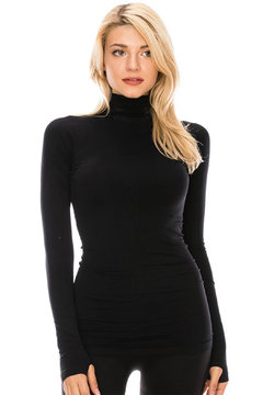 Shoptiques Product: Mock Neck Long Sleeve