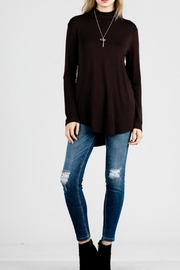 Emma's Closet Mock-Neck Long Sleeve - Product Mini Image