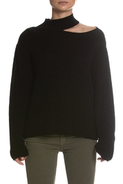 Elan Mock-Neck One-Shoulder Sweater - Product Mini Image