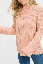 Listicle Mock-Neck Pullover - Product Mini Image