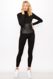 NELEMENT Mock Neck Pullover and Legging Set - Front cropped