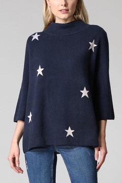 Fate MOCK NECK PULLOVER SWEATER WITH STARS - Alternate List Image