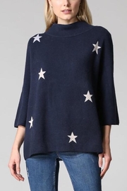 Fate MOCK NECK PULLOVER SWEATER WITH STARS - Product Mini Image