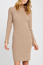 Gentle Fawn Mock-Neck Sweater Dress - Product Mini Image
