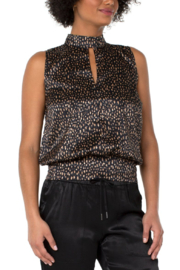 Liverpool  Mock Neck Tank - Front cropped
