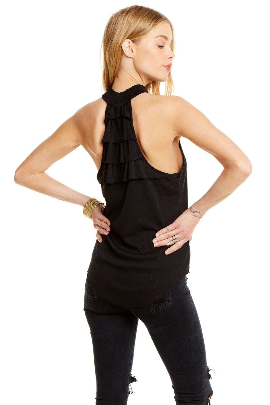 Chaser Mock Neck Tank - Side Cropped Image